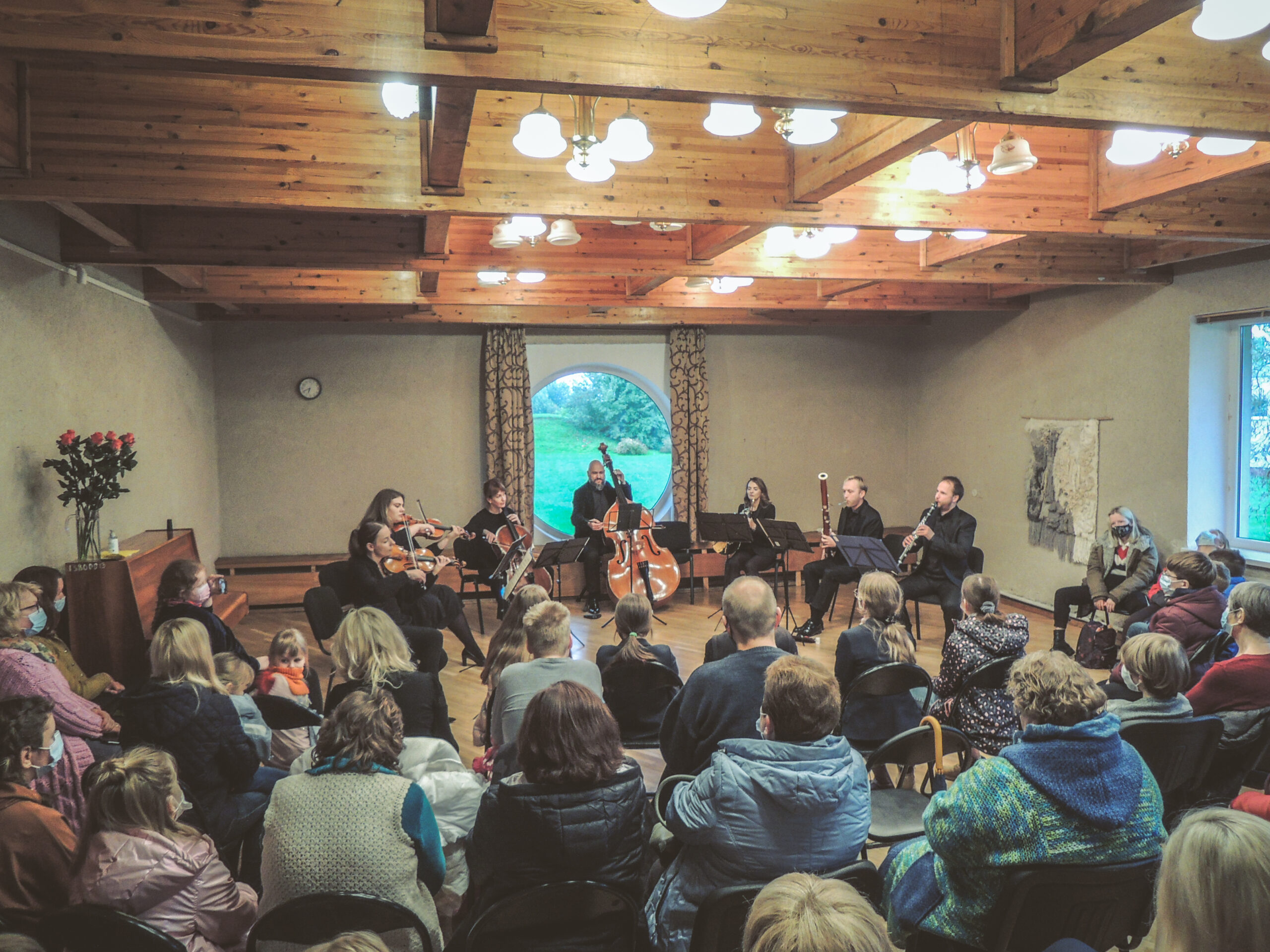 Šį vakar Rumšiškių kultūros centre skambėjo Ludwig Van Beethovenu – Septetas Es-dur, op. 20